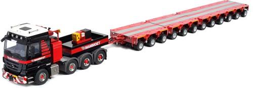 Actros 8x4 4165 SLT + 12-Axle Scheuerle trailer