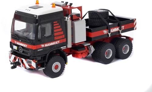 MB Actros 6x6 with ballast box