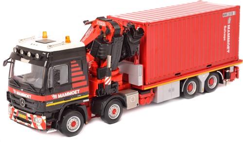 Actros 8x4 Bakwagen + Container