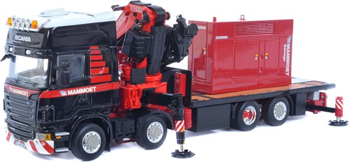 Mammoet Scania R480 8x2 + Generator