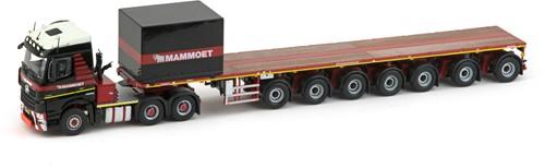 Mammoet MB Arocs Streamspace 6x4 + 7 assige ballast trailer