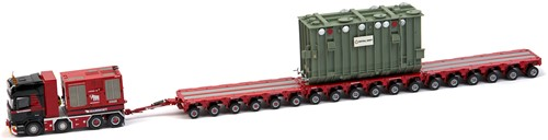 Mammoet Scania R620 + K25 18 liner + Trafo