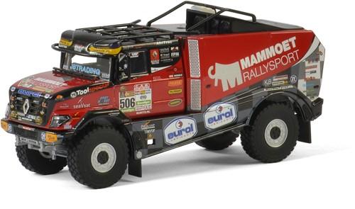 Mammoet Rallysport Dakar truck 2017