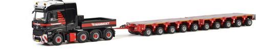 Mammoet MB Actros SLT 8x4 + intercombi Scheuerle set 5+5