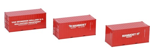 Mammoet Container Set III
