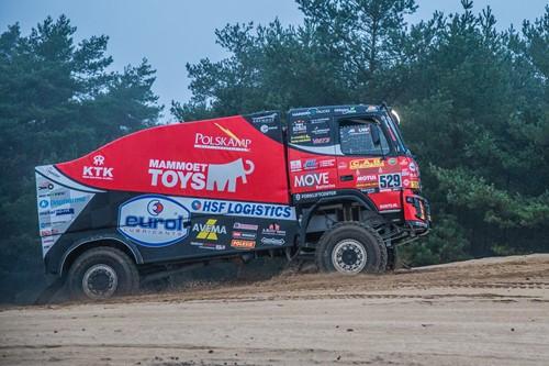 Mammoet Rallysport Volvo Dakar Truck 2021 (#529)