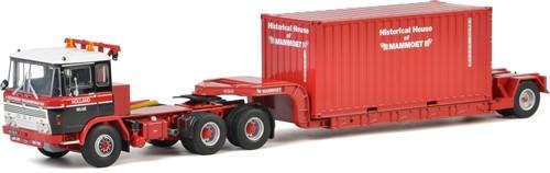 Van Seumeren DAF 2600 + Lowloader + Container