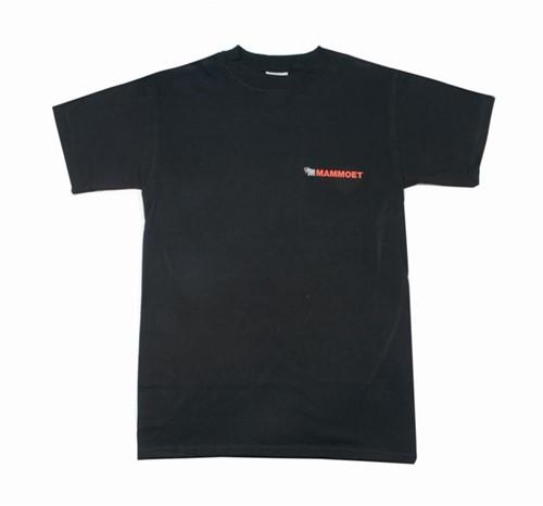 Mammoet Mannen T-shirt Zwart