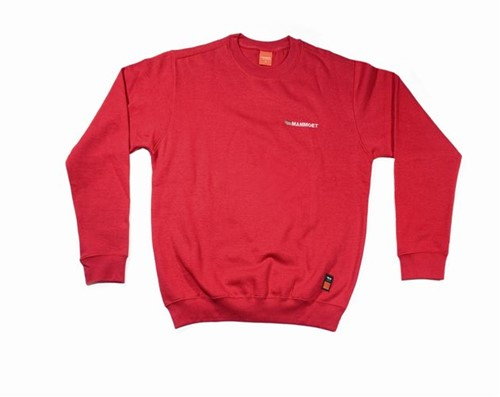 Crewneck Sweatshirt Red