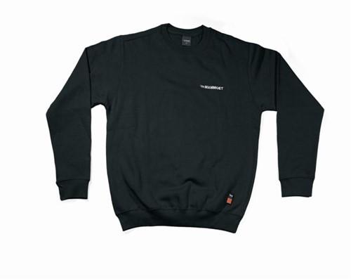 Mammoet Crewneck Sweatshirt Zwart