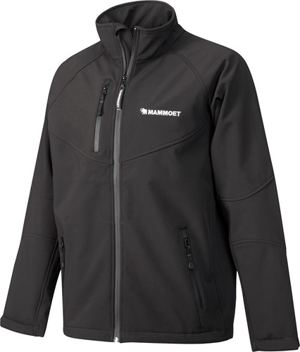 Mammoet Softshell Black Men M