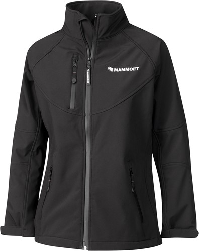 Mammoet Softshell Black Woman XL