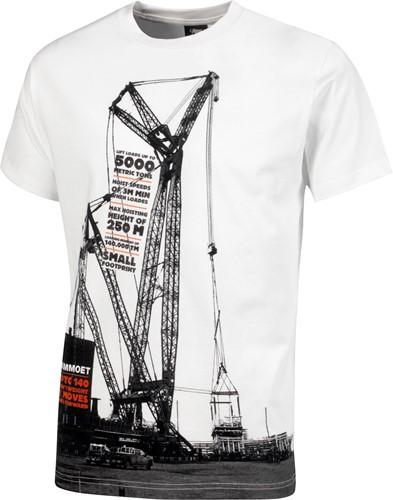 PTC 140 T-shirt White Men L