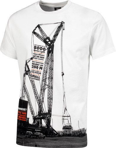 PTC 140 T-shirt White Men XXL