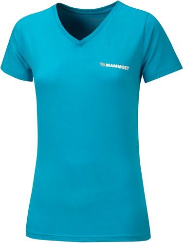 T-shirt Mammoet Ladies Aqua blue XL