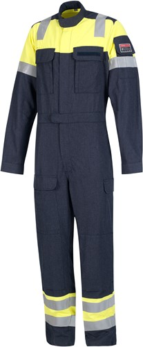 Inherent FR coverall yellow/navy 58