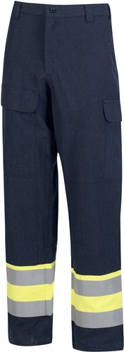Inherent FR Trousers yellow/navy 50