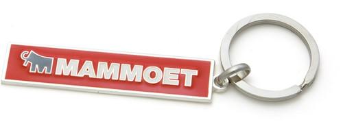 Mammoet Metal Keychain