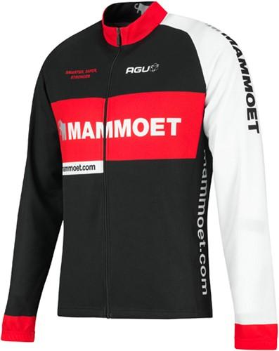 Mammoet fietsshirt jersey met lange mouwen