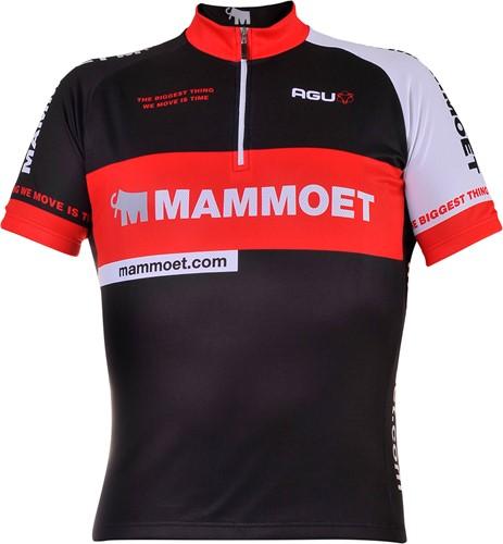 Mammoet fietsshirt met korte mouwen