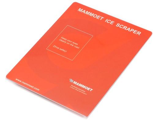 Mammoet ijskrabber