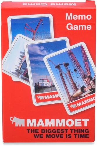 Mammoet Memo Game