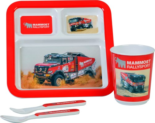 Mammoet Rallysport cutlery set, 4 pieces