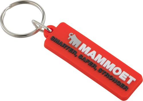 Rubber Keychain Mammoet II