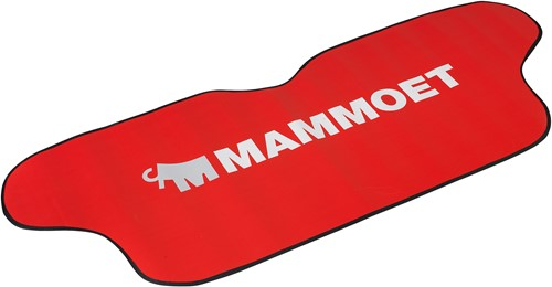 Mammoet autoscherm