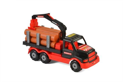 Mammoet USA Vrachtwagen met Hout