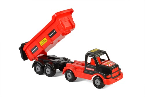 Mammoet vrachtwagen met kiepbak