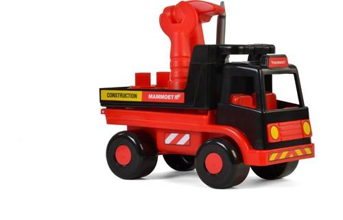 Mammoet Vrachtwagen met Gereedschap