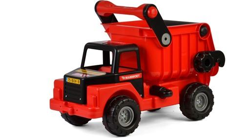 Mammoet mega vrachtwagen met kiepbak