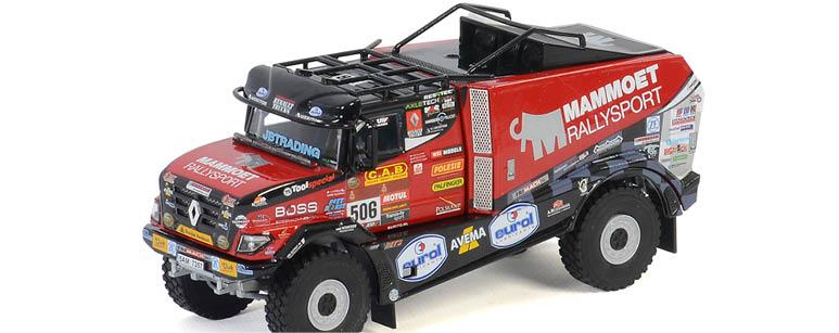 mammoet rallysport dakar truck