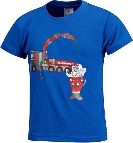 Mambo T-shirt Truck Blauw