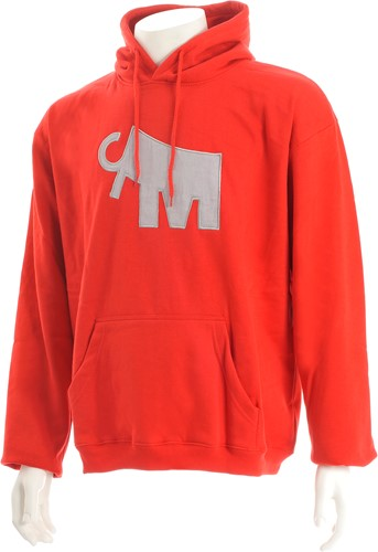 Mammoet Hooded sweater Red