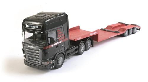 Mammoet Scania + 3 ass lowloader